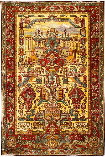 Armenian_rug_Mayr_Hayastan,_20th_century,_No._2358